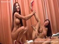 Insatiable twin sisters being dirty in this amateur video