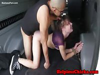 Captured teenager helpless and fucked