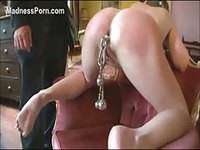 Slave is played with by her masters