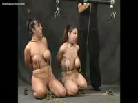 Twin sisters extreme slave domination